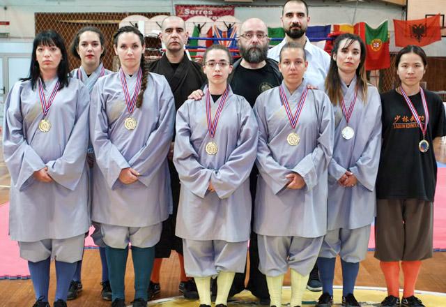 6 Χρυσά κορίτσια στο Παγκόσμιο στις Σέρρες
