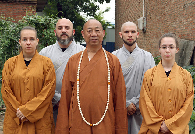 Επίσκεψη στο Δάσκαλο Σι Γιουνγκ Γκουό